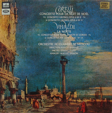 LP - Barshai: Vivaldi & Corelli Concerti - French EMI CVHS 905 (24-pg Catalog Issue)