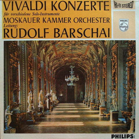 LP - Barshai/Moscow CO: Vivaldi Concerti For Various Instruments - Philips 835 172 AY (red/silver)