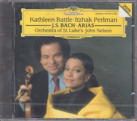 Battle & Perlman: J.S. Bach Arias - DG 429 737-2 (sealed)