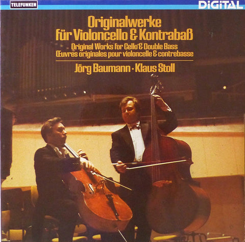 Baumann & Stoll: orig. works for cello & double-bass - Telefunken 6.42827