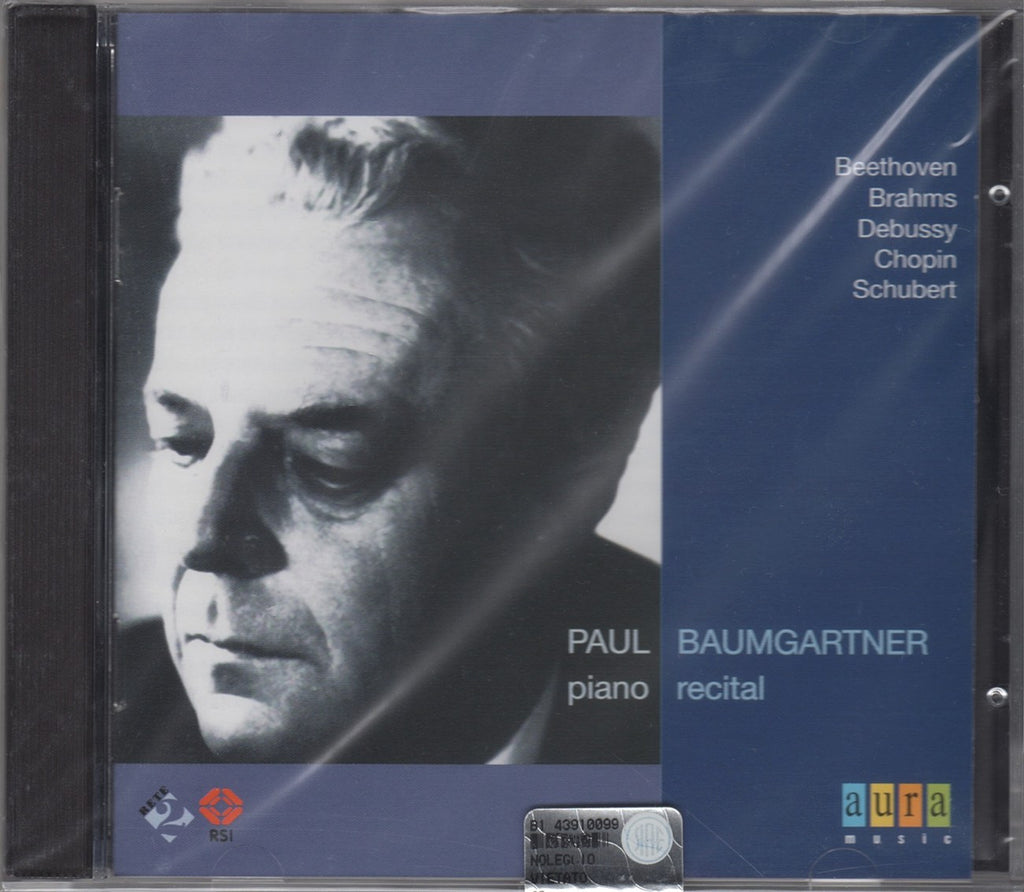 CD - Baumgartner: Piano Recital (Beethoven, Debussy, Chopin, Brahms) - Aura AUR 194-2 (sealed)