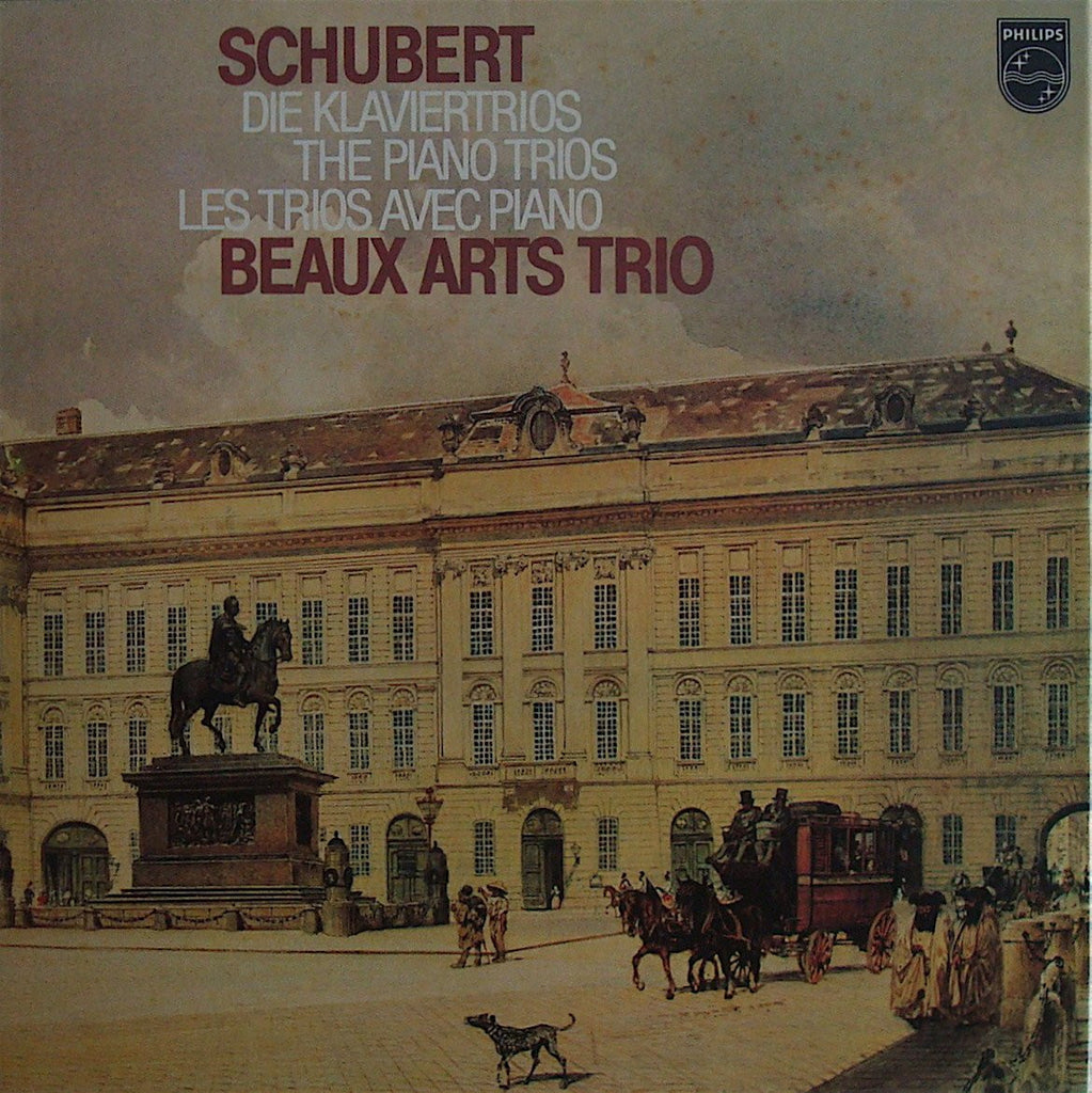 LP - Beaux Arts Trio: Schubert Piano Trios, Etc. - Philips 6747 431 (2LP Box)