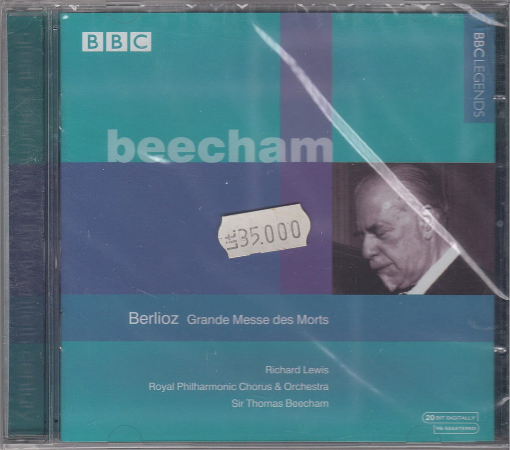 CD - Beecham: Berlioz Grande Messe Des Morts - BBC Legends BBCL 4011-2 (sealed)