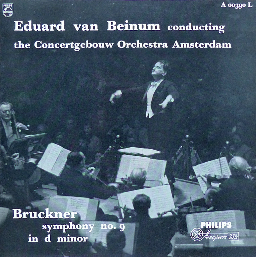 Beinum: Bruckner Symphony No. 9 - Philips A 00390 L