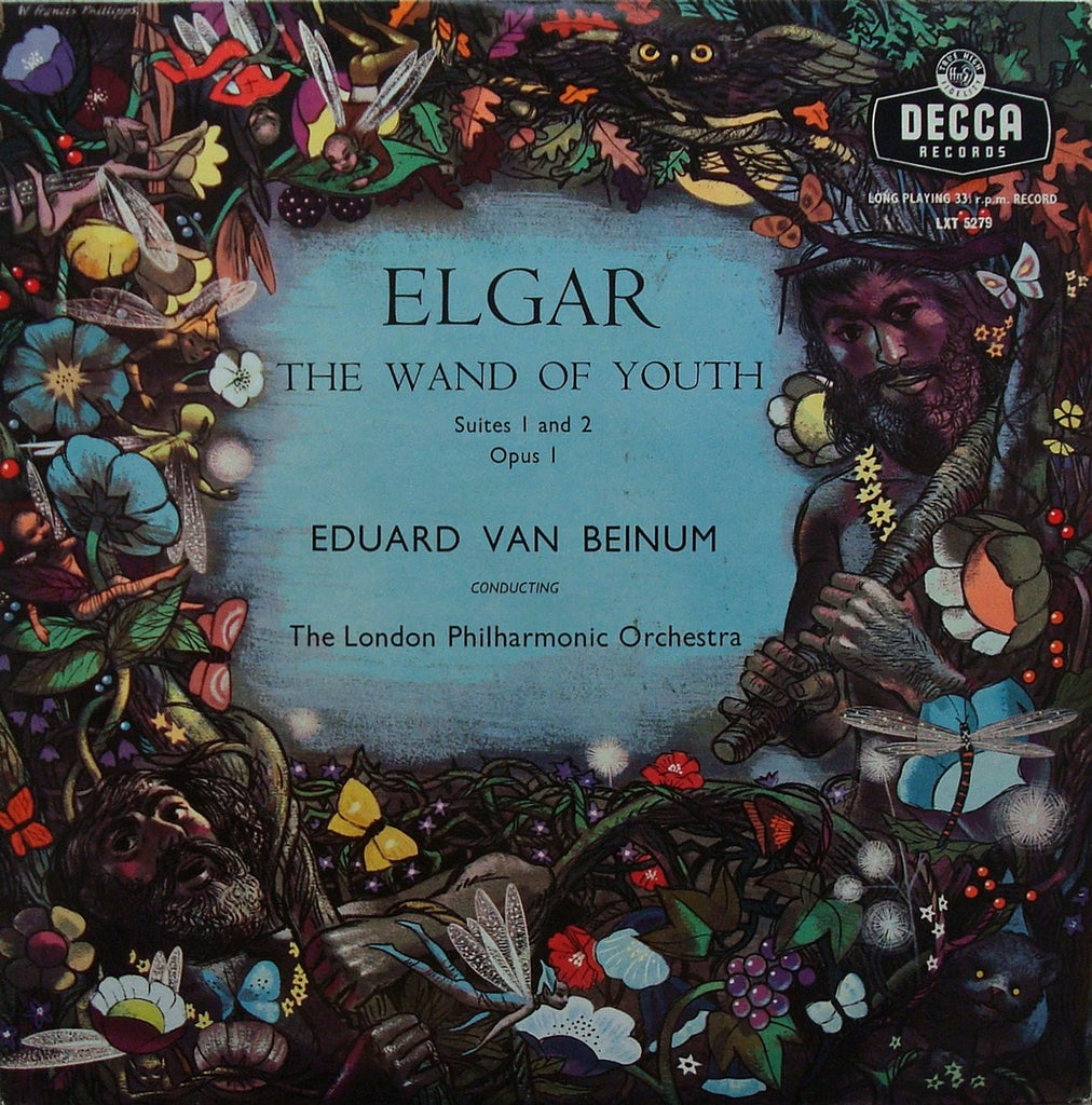LP - Beinum/LPO: Elgar Wand Of Youth Suites Nos. 1 & 2 - Decca LXT 5279, Lovely Copy