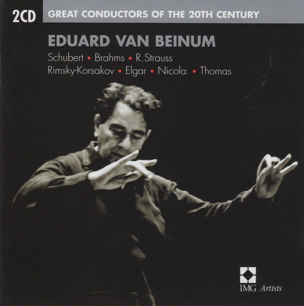 "CD - Beinum: ""Great Conductors Of The 20th Century"" - EMI 7243 5 75941 2 7 (2CD Set)"