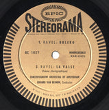"LP - Beinum: Bolero, La Valse, Nutcracker Suite - Epic BC 1027 (""Stereorama"")"