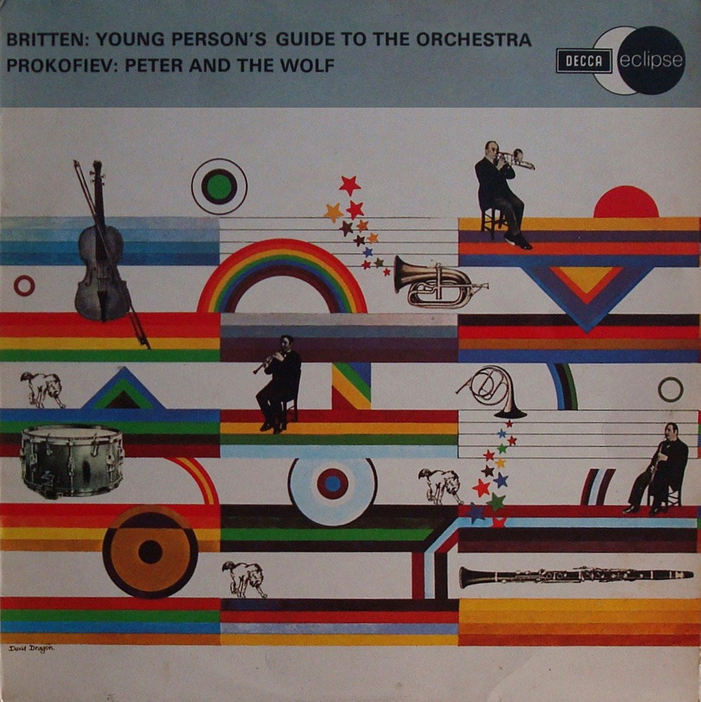 LP - Beinum: Britten Young Person's Guide To The Orchestra + Prokofiev - Decca ECS 2094