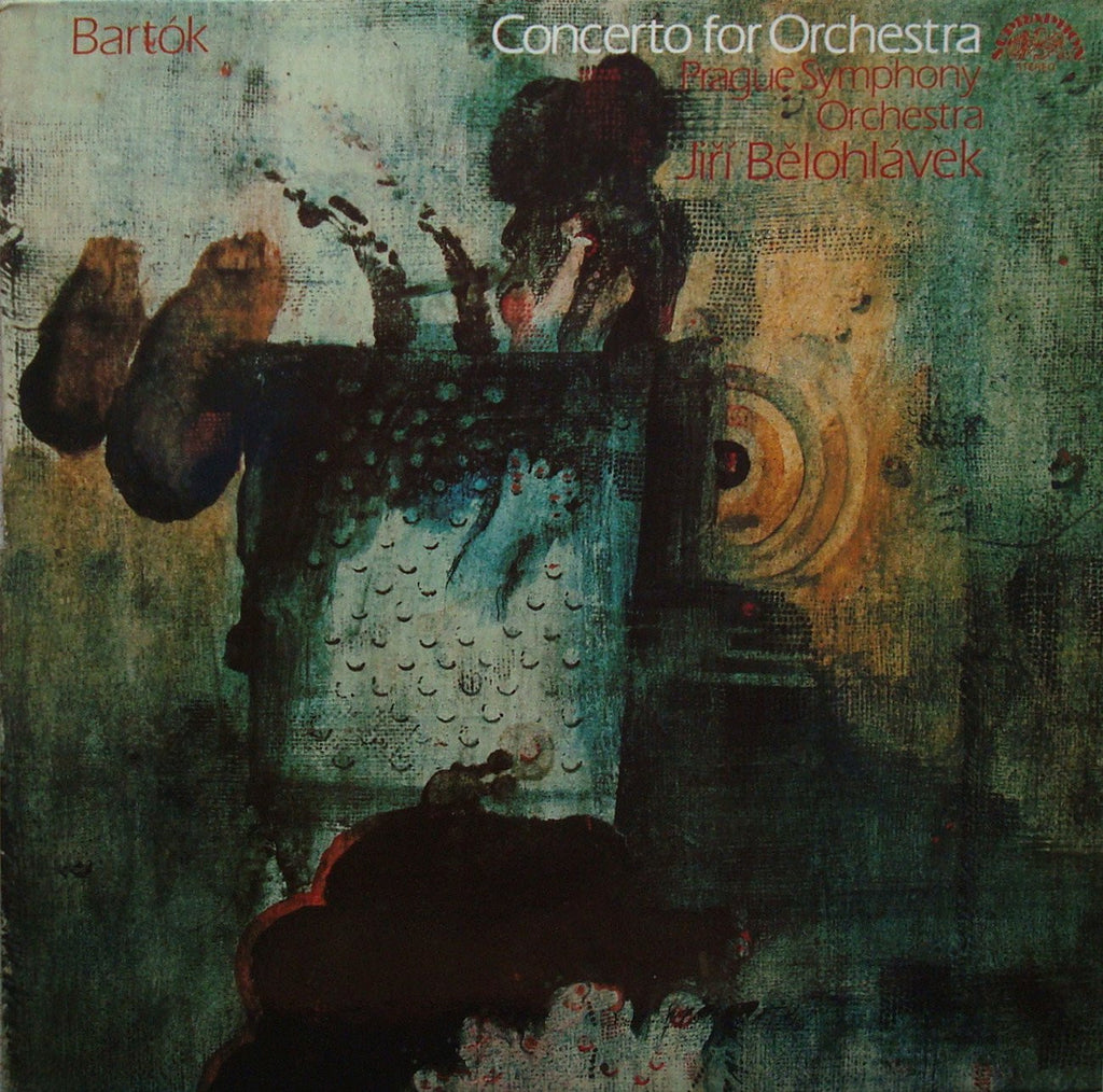 LP - Belohlavek/Prague SO: Bartok Concerto For Orchestra - Supraphon 1110 3189 G