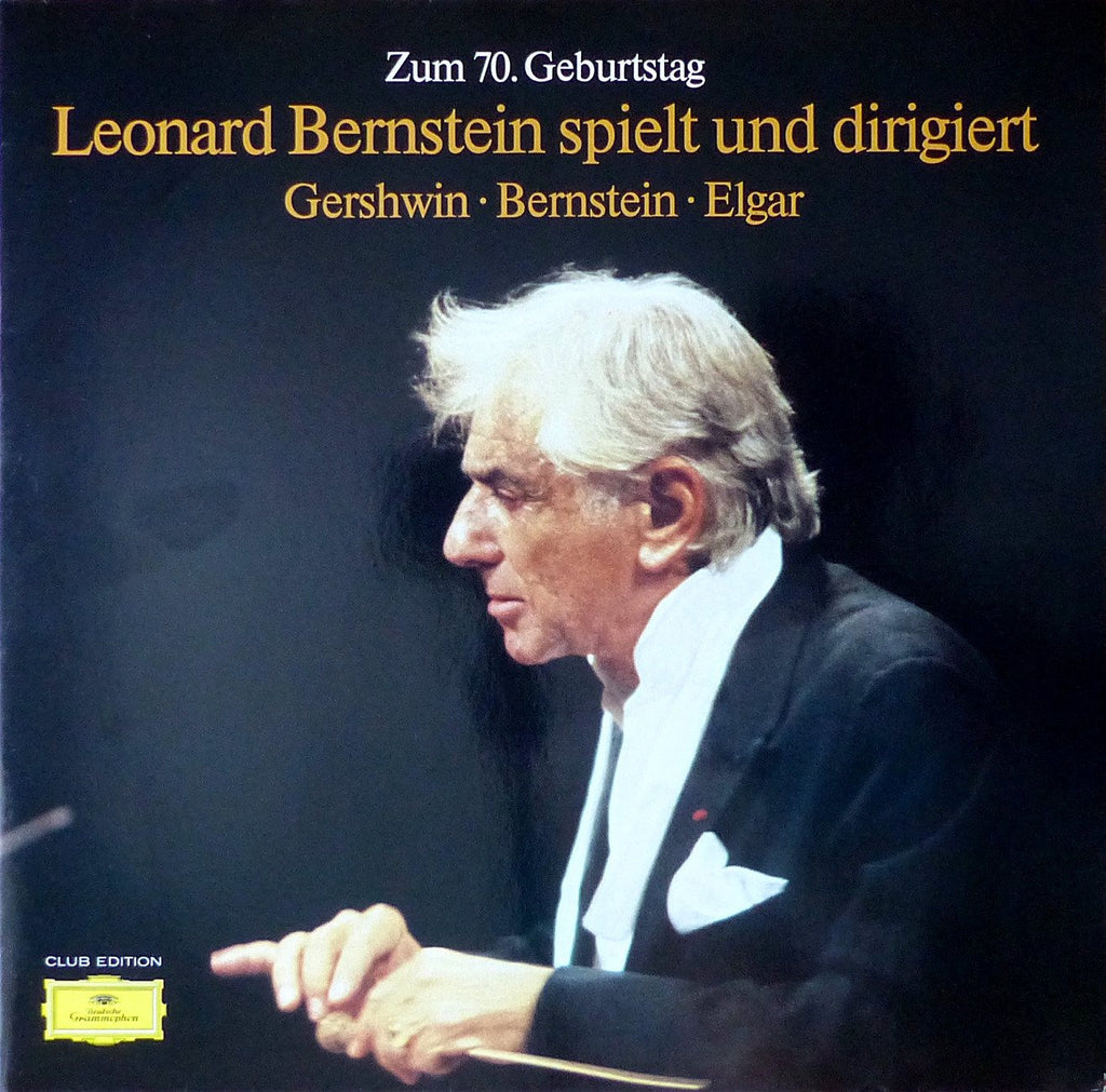 LP - Bernstein: 70th Birthday Special Issue - DG 15 460 9 (2LP Set, Club)