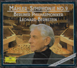 Bernstein/BPO: Mahler Symphony No. 9 - DG 435 378-2 (2CD set, sealed)