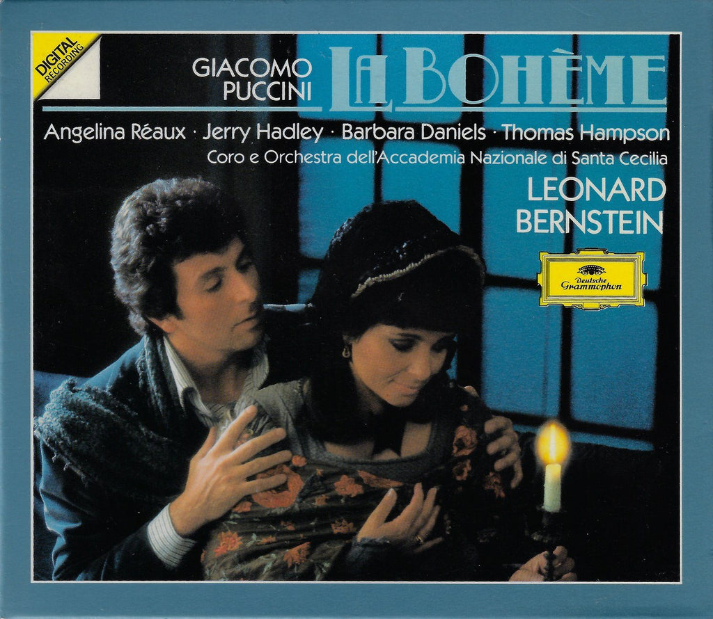 Bernstein: Puccini La Bohème - DG 423 601-2 (2CD box set)
