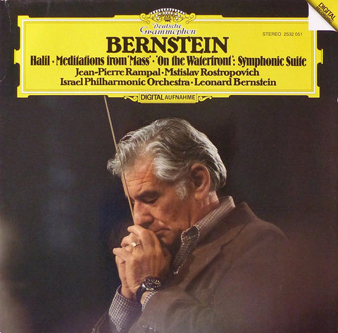 Bernstein: Halil, Meditations from Mass & On the Waterfront - DG 2532 032