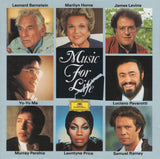 "CD - Bernstein: ""Music For Life"" (Mvt II From K. 448 With J. Levine) - DG 429 392-2 (DDD) - Rare"