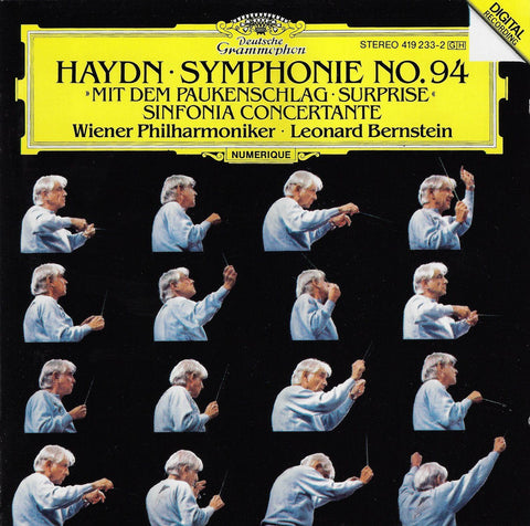 Bernstein: Haydn Symphony No. 94 (Surprise), etc. - DG 419 233-2