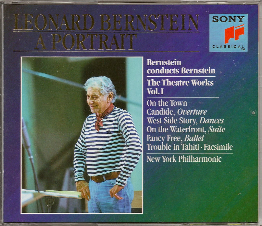 CD - Bernstein: Theater Works (West Side Story, Candide, Etc.) - Sony SM3K 47154 (3CD Set)