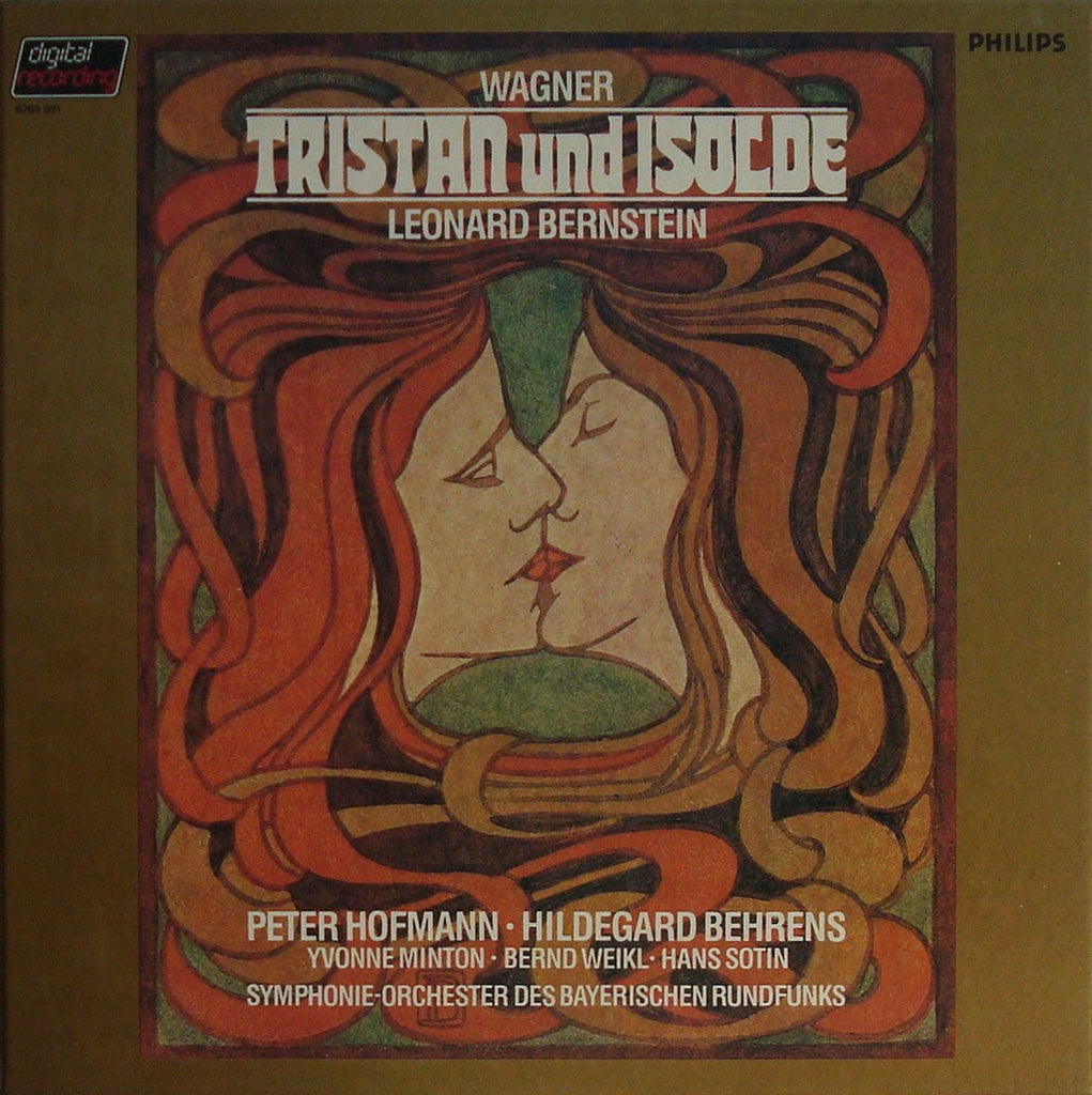 LP - Bernstein: Wagner Tristan Und Isolde - Philips 6769 091 (5-LP Box) - Magnificent
