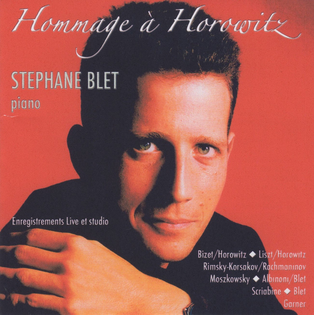 CD - Stephane Blet: Homage To Horowitz (piano Recital) - Barcal 80701