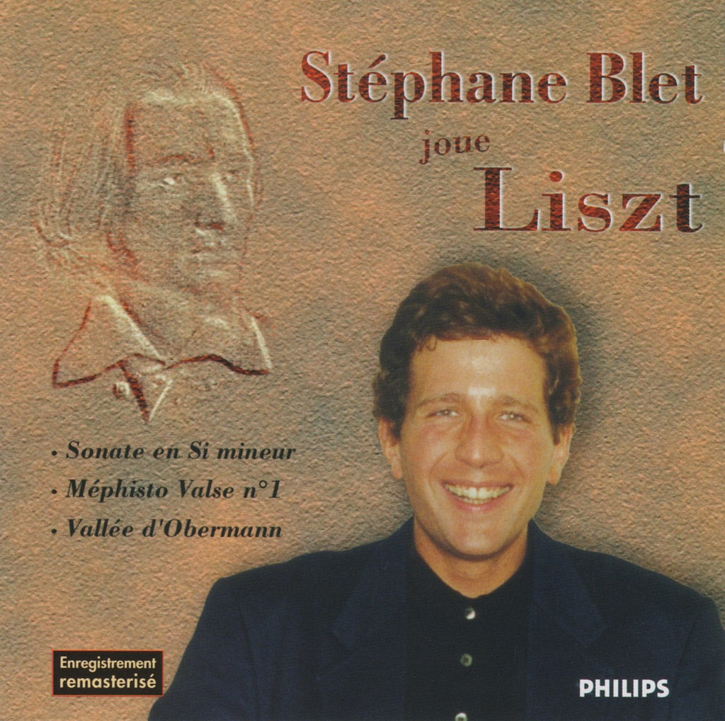 CD - Stephane Blet Plays Liszt (Sonata In B Minor, Mephisto Waltz, Etc.) - Philips 426 179-2 (DDD)