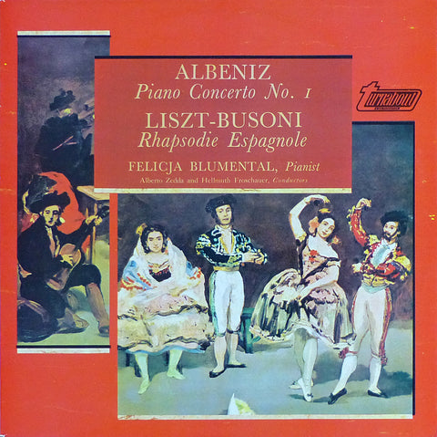 Blumental: Albeniz Piano Concerto No. 1, etc. - Vox-Turnabout TV 34372S