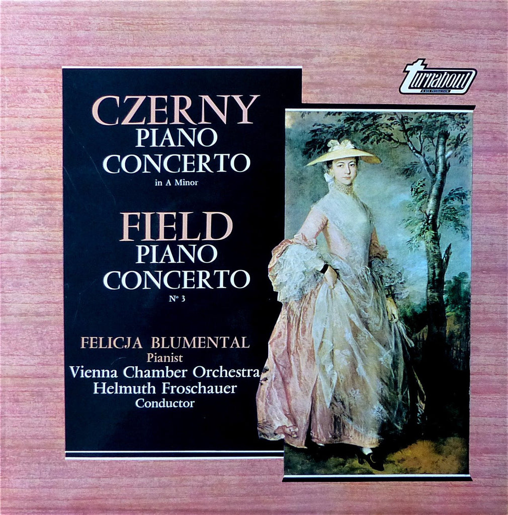 LP - Blumental: Czerny & Field Piano Concertos - Vox Turnabout TV 34389S