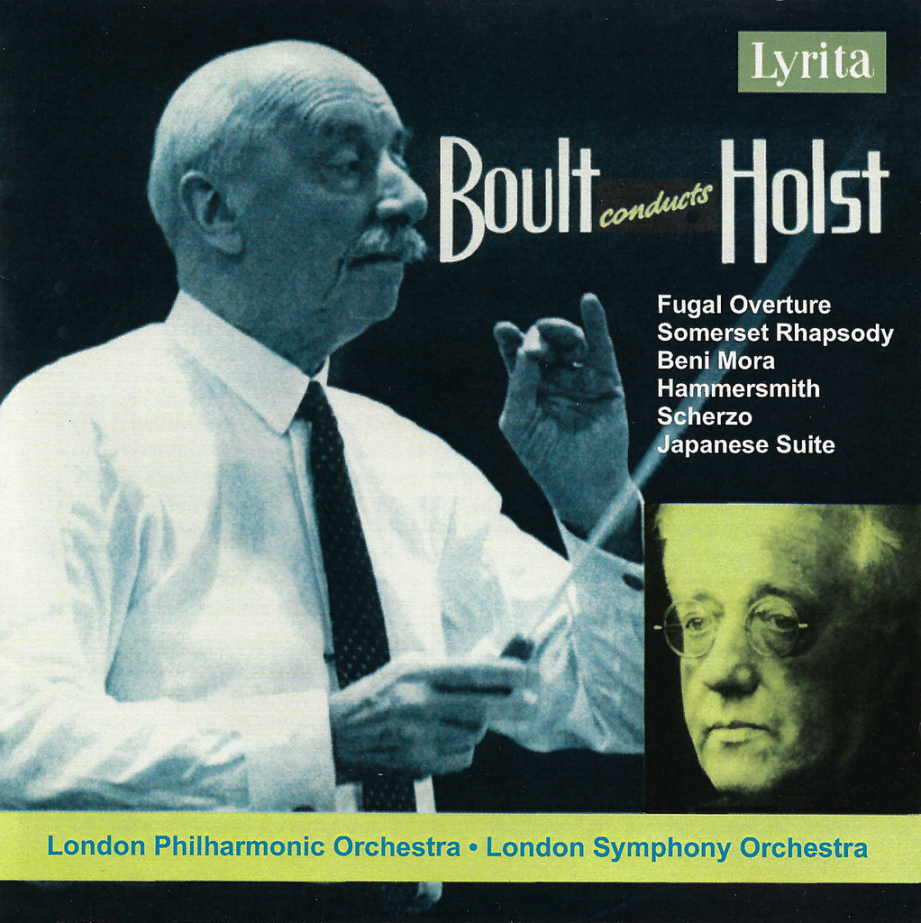 Boult: Holst Somerset Rhapsody, Beni Mora, etc. - Lyrita SRD.222