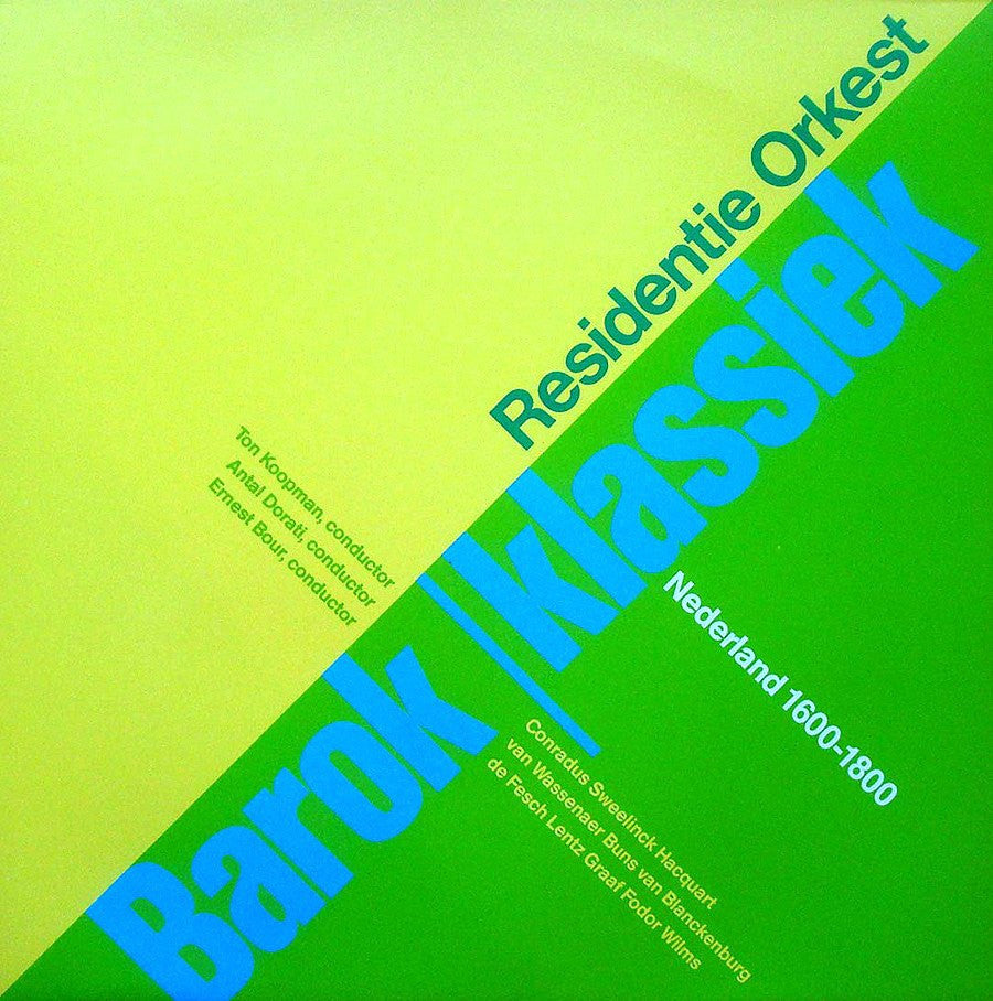 LP - Residentie Orkest: Dutch Composers Conducted By Dorati, Bour, Et Al. - RO 6818.531 (2LP Set)