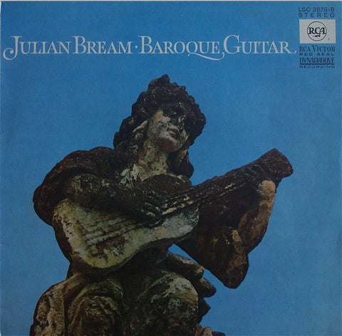 LP - Bream: Baroque Guitar (Bach, Sor, Et Al.) - German RCA LSC-2878-B