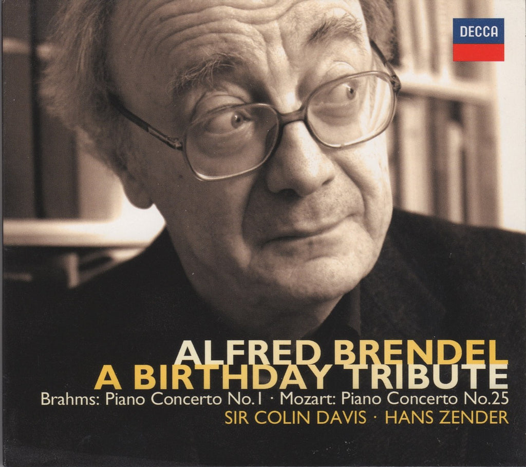 "CD - Brendel: ""A Birthday Tribute"" (""live"" Concerto Performances) - Decca 478 2604 (2CD Set)"