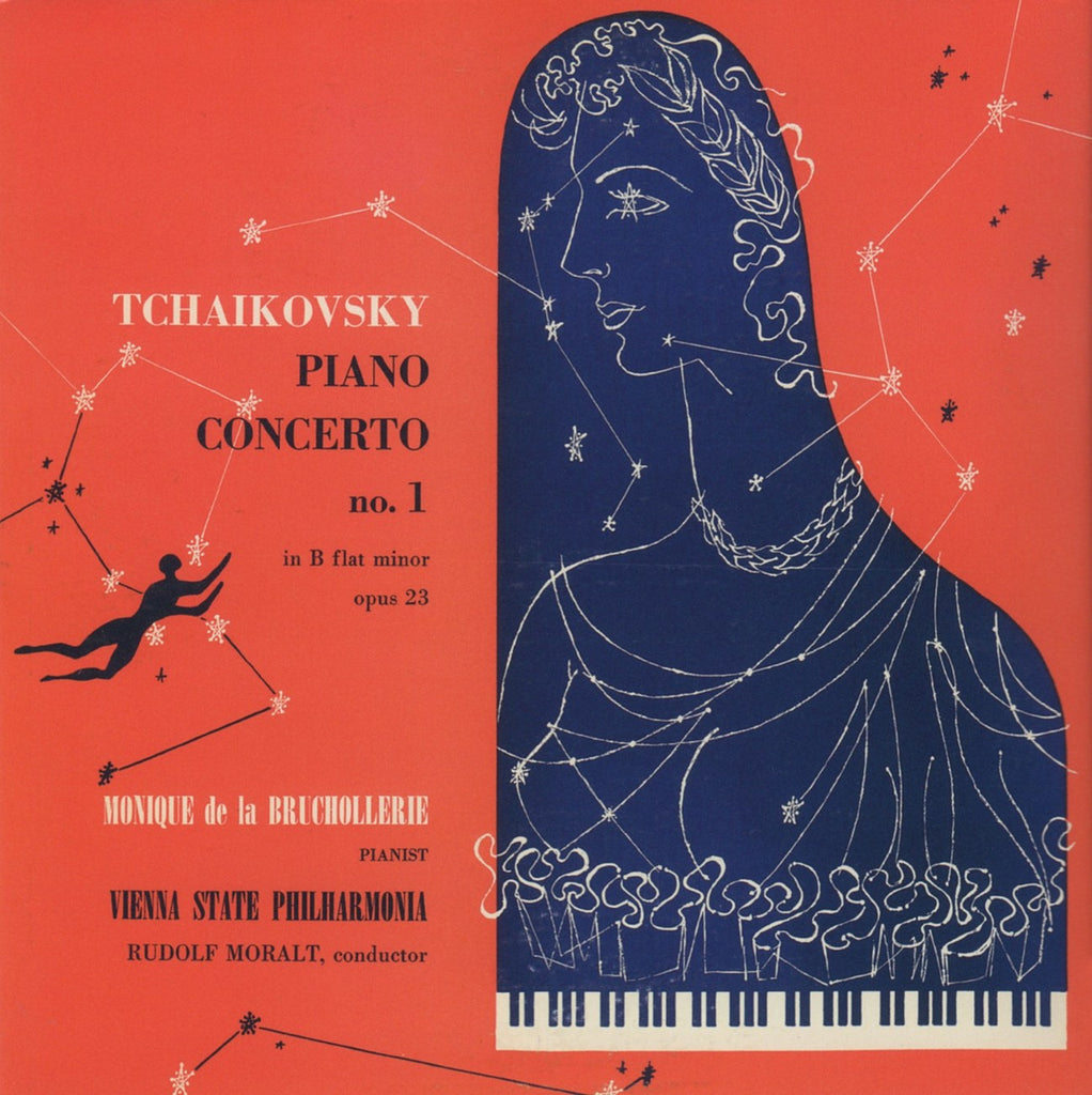 CD - Bruchollerie: Tchaikovsky Piano Concerto No. 1 (from Vox) - Green Door GDFS-0022