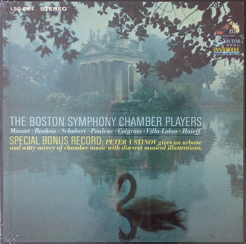 BSO Chamber Players: Mozart, etc. - RCA LSC-6184 (4LP box set, sealed)