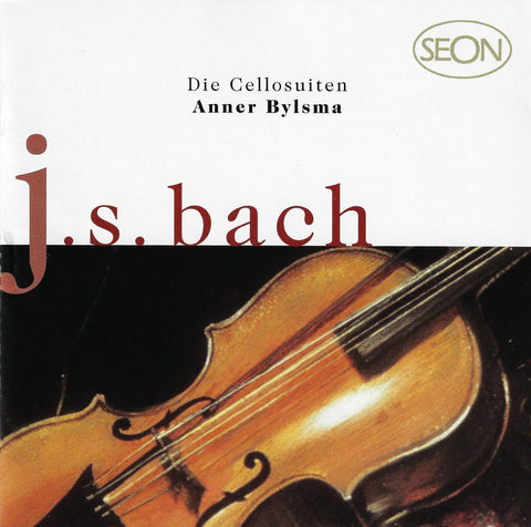 Bylsma: Bach 6 Suites for Solo Cello - Seon / Sony SB2K 60880 (2CD set)