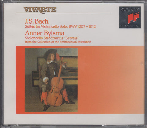 Bylsma: Bach Solo Cello Suites BWV 1007-1012 - Sony S2K 48047 (2CD set)