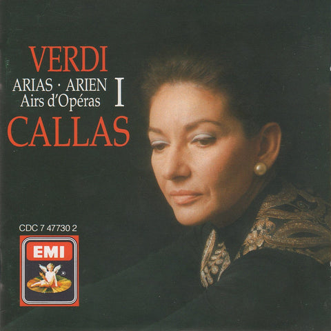 Callas: Verdi Arias I (Macbeth, Nabucco, etc.) - EMI CDC 7 47730 2
