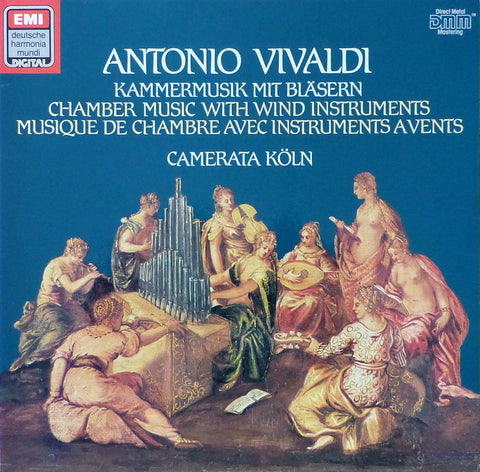 Camerata Köln: Vivaldi Chamber Music with Winds - EMI / DHM 16 9587 1