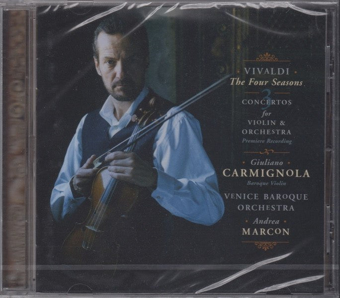 CD - Carmignola: Vivaldi 4 Seasons, Etc. - Sony Classical SK 51352 (DDD) (sealed) - Brilliant!