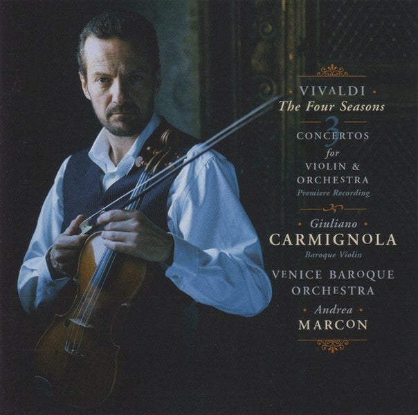 CD - Carmignola: Vivaldi 4 Seasons, Etc. - Sony Classical SK 51352 (DDD) - Brilliant!