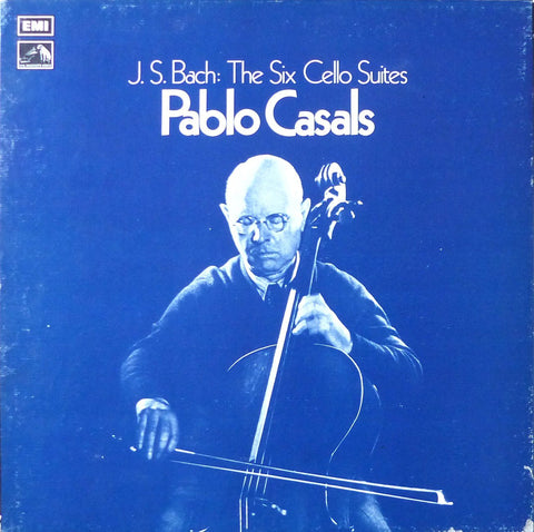 Casals: Bach 6 Suites for Solo Cello - EMI RLS 712 (3LP box set)