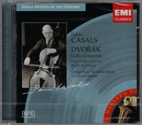 Casals: Dvorak & Elgar Cello Concertos, etc. - EMI 5 62952 2 (sealed)