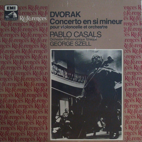 LP - Casals/Szell: Dvorak Cello Concerto - EMI Références 1013841 (sealed)