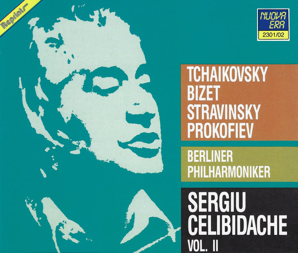 Celibidache: Berliner Philharmoniker II - Nuova Era 2301/02 (2CD set)