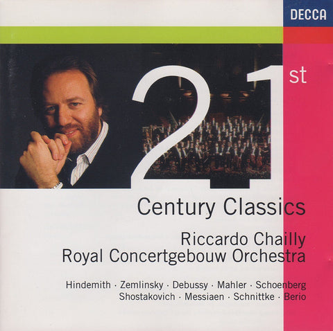 Chailly: 21st Century Classics (sampler) - Decca 443 752-2