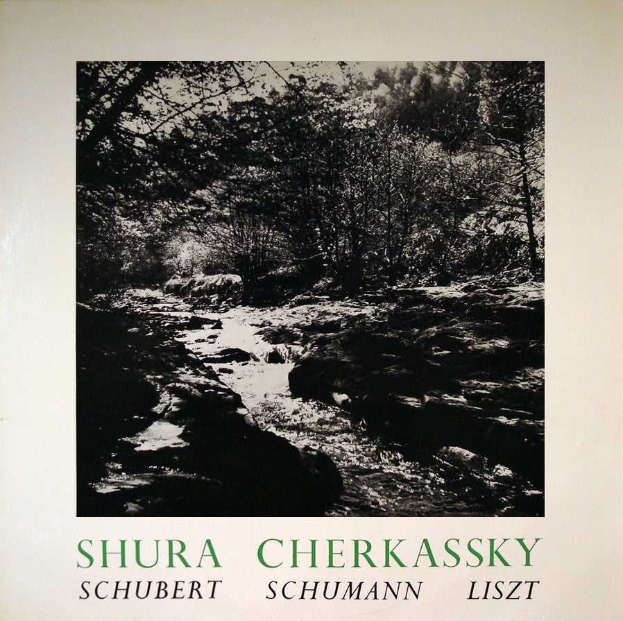 LP - Cherkassky: Schubert Piano Sonata D. 959 + Liszt - World Record Club T 58
