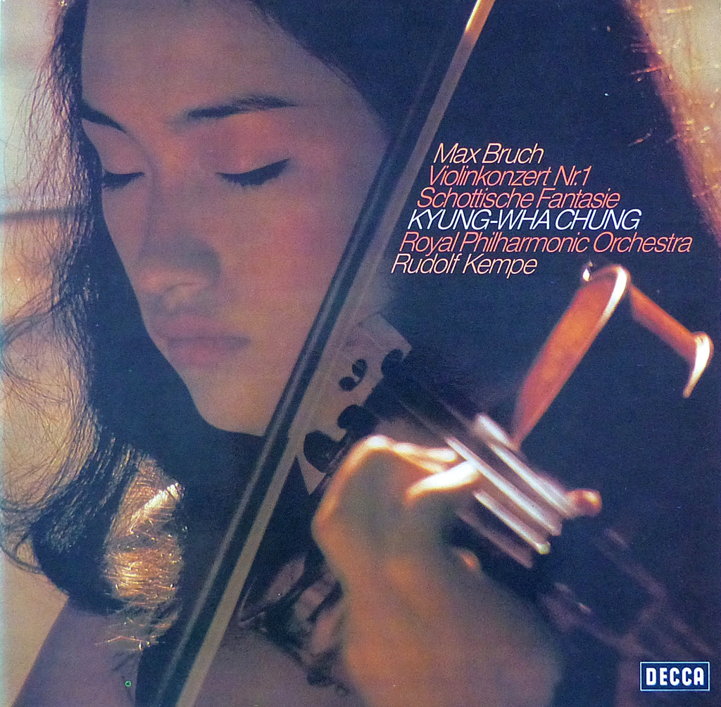 Chung: Bruch Violin Concerto No. 1 + Scottish Fantasy - Decca 6.41483 AW