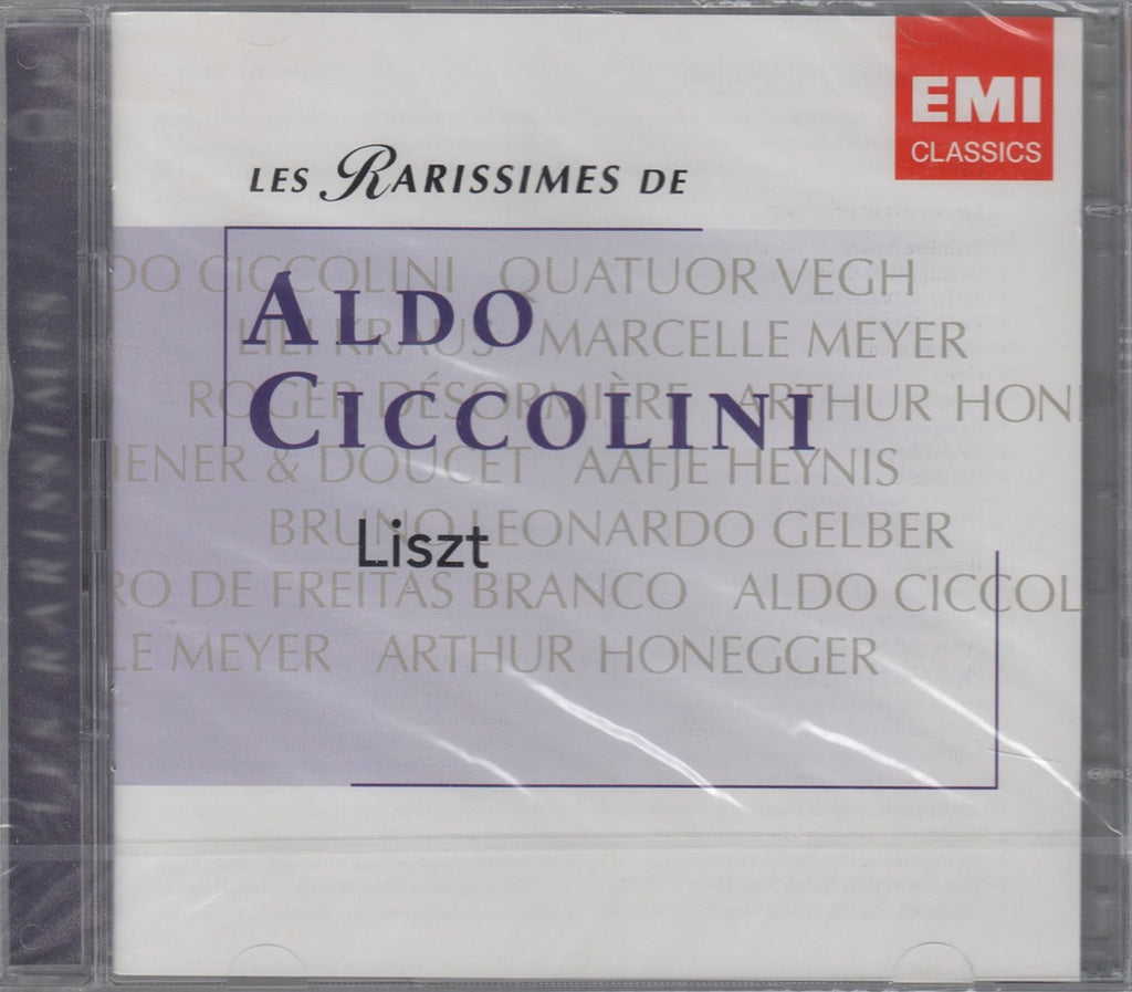 "CD - Cicciolini: ""Les Rarissimes"" (Liszt Recordings) - EMI 7243 5 86465 2 8 (2CD Set, Sealed)"