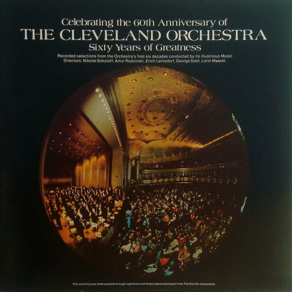 LP - Cleveland Orchestra: 60 Years Of Greatness - Musical Arts Association CLO-20-789