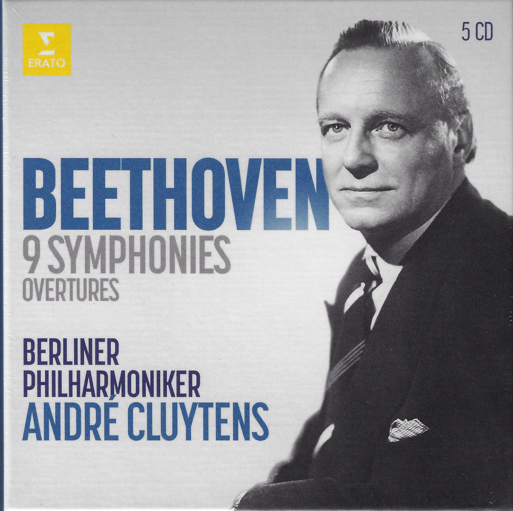Cluytens: Beethoven 9 Symphonies, etc. - Erato 0190295381066 (5CD set, sealed)
