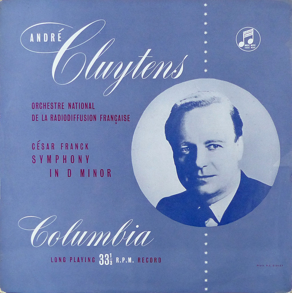 Cluytens/ONRF: Franck Symphony in D minor - Columbia 33CX 1064