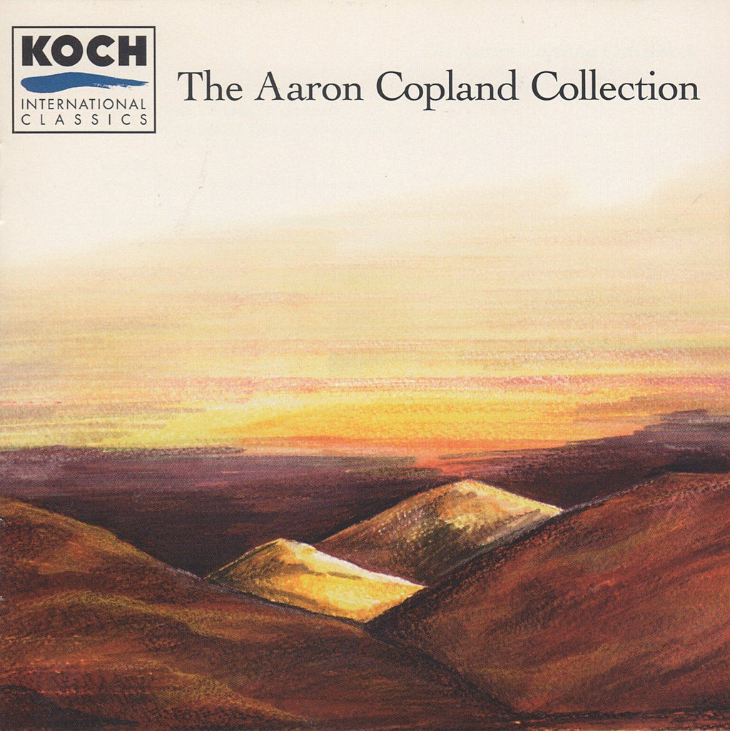 Aaron Copland Collection: various works / artists - Koch 3-7608-2