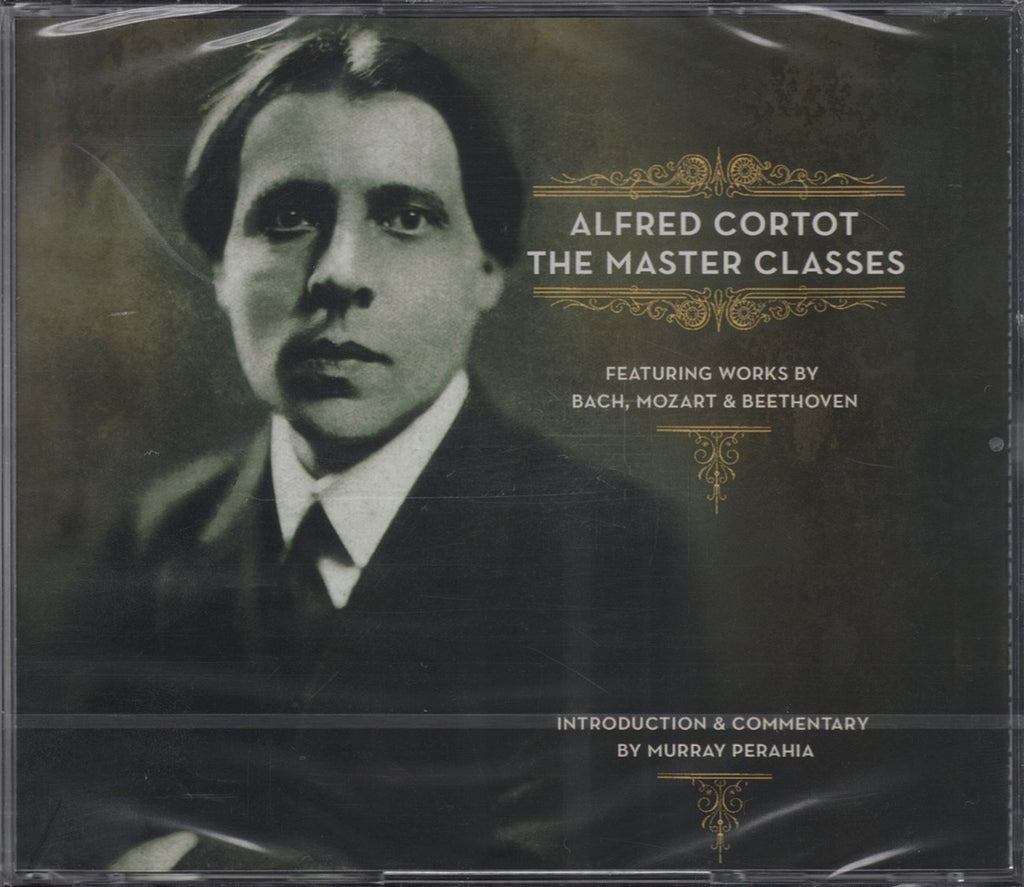 CD - Cortot: The Master Classes (Bach, Mozart, Beethoven) - Sony S3K89698 (3CD Set, Sealed)